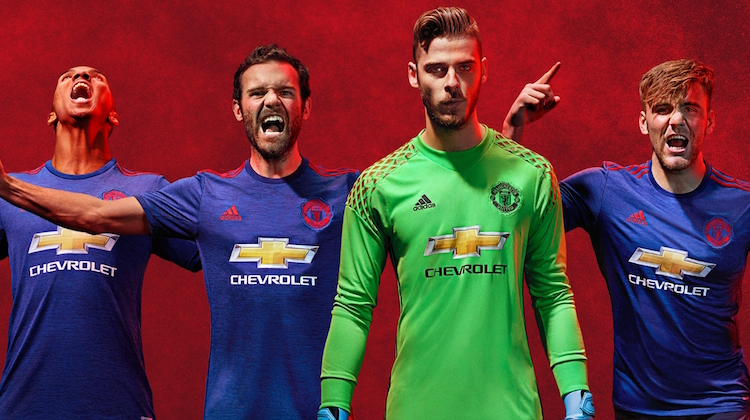 Maglia Manchester United away 2016-17