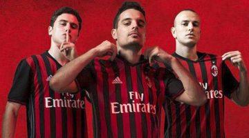 La nuova maglia del Milan 2016-17
