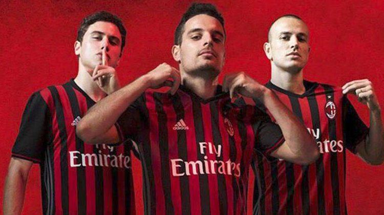 Maglia Milan 2016-2017 home kit adidas