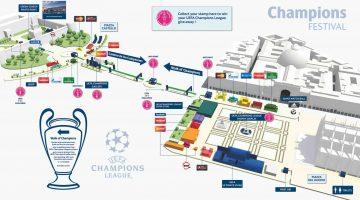 Programma Uefa Champions Festival a Milano