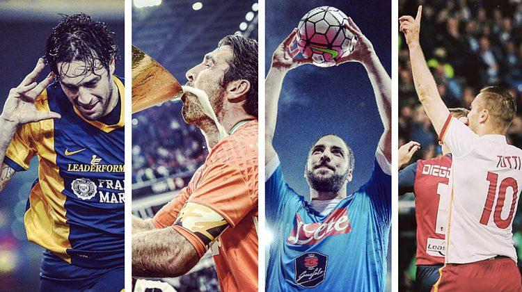 Numeri maglia Serie A 2015-2016