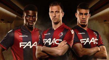 Bologna, la nuova maglia 2016-17