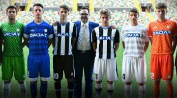 Maglie dell'Udinese di HS per il 2016-17