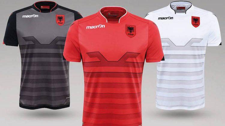 Maglia Albania per Euro 2016