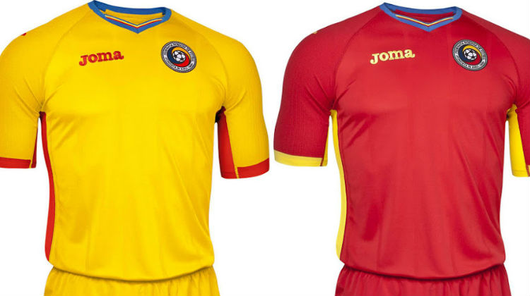 Maglia Romania per Euro 2016