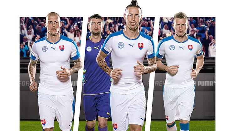 Maglia della Slovacchia per Euro 2016