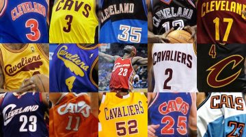 LeBron James, maglia Cavs per la storia