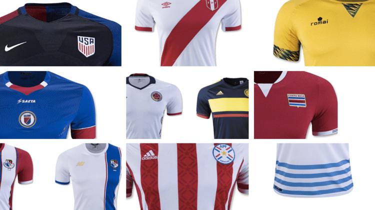 copa america centenario 2016 maglie nazionali