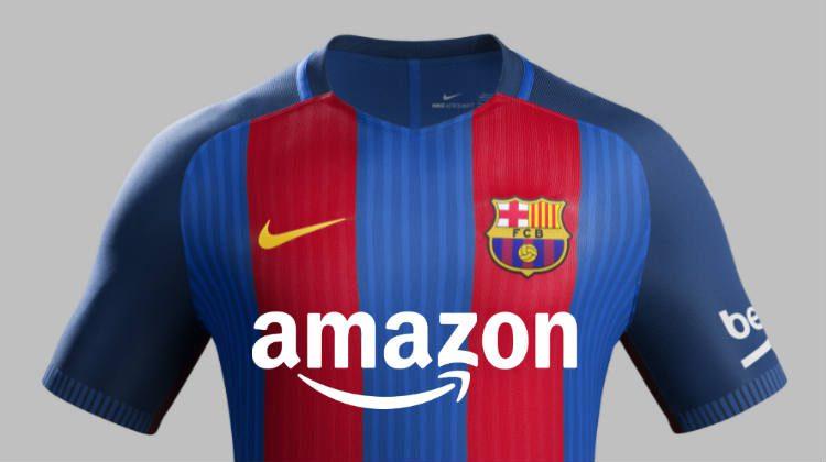 Amazon sponsor di maglia del Barcellona?