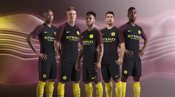 Manchester City, maglia away 2016-2017