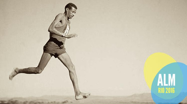 abebe bikila maratona roma 1960