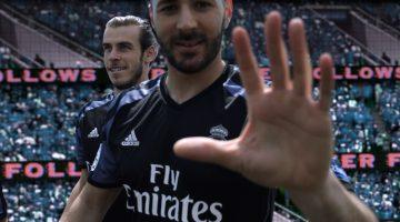 Maglia Real Madrid, la terza è nera