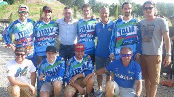 Motocross, Maglia Azzurra FMI per Maggiora