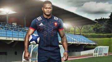 Maglia rugby Francia 2016-2017 di adidas