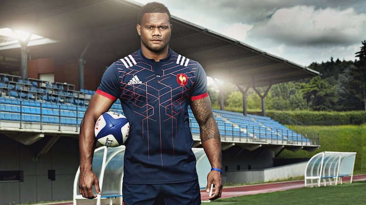 francia rugby maglia 2016-2017