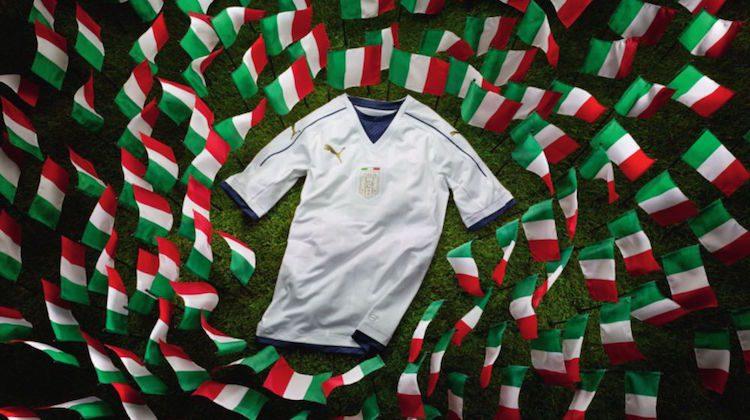 kit away Italia Puma 2016