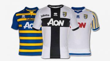 Parma, maglia 2016-2017 di Erreà