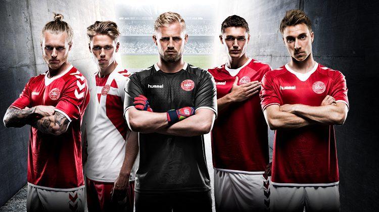 Danimarca, maglia 2016-2017 di hummel