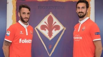 Fiorentina, terza maglia rossa 2016-2017