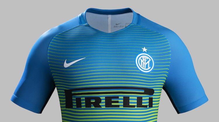 inter terza maglia verde blu 2016-2017