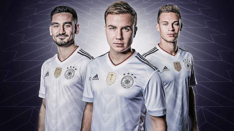 Germania, nuova maglia Confederations Cup 2017