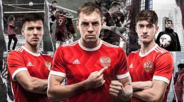 Russia, maglia Confederations Cup 2017