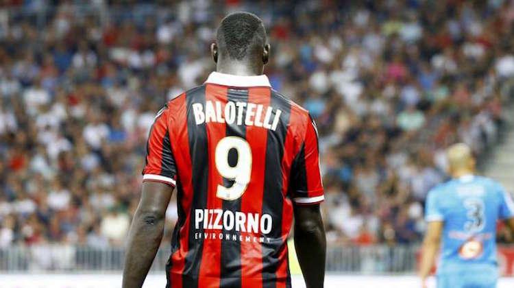 Balotelli, maglia del Nizza: boom di vendite