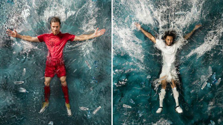 Real e Bayern, maglia adidas x Parley