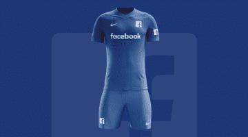 Social network e calcio: queste le loro maglie