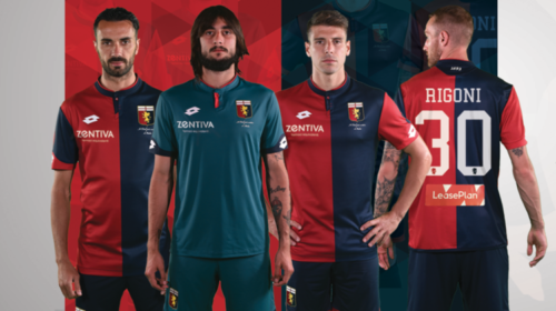 Maglia Genoa 2017-2018
