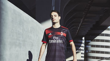 Terza maglia Milan nera