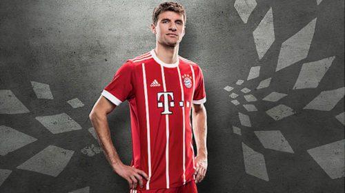 Bayern Monaco, la maglia 2017-2018