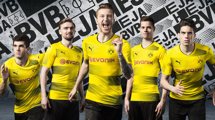 Maglia Borussia Dortmund 2017-2018