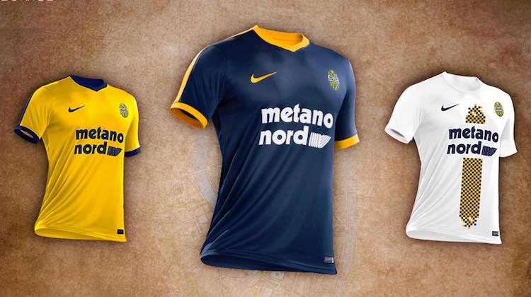 Hellas Verona, le maglie 2017-2018