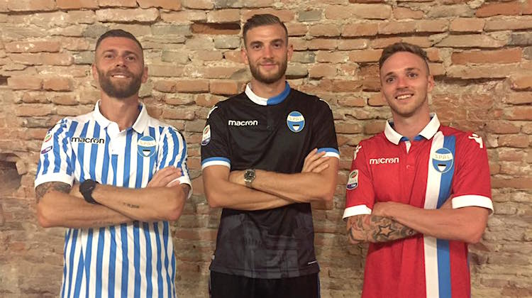 Spal, le nuove maglie 2017-2018
