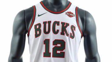 Bucks, nuova maglia di Nike