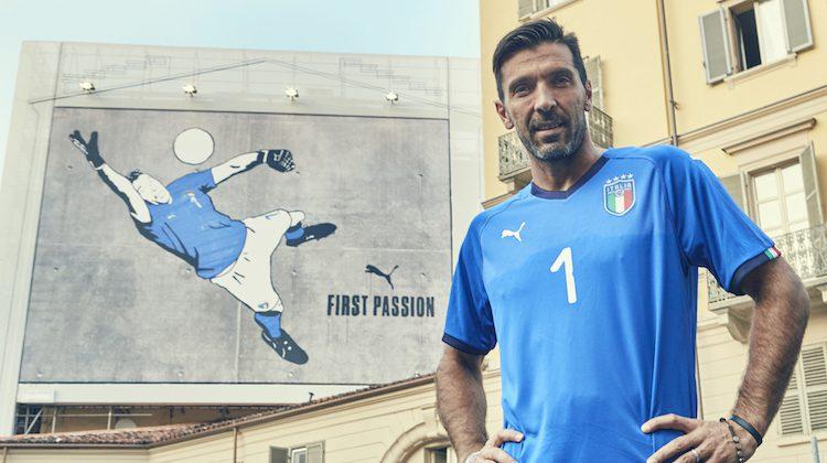Italia, nuova maglia 2018 di Puma