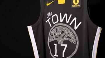 Perché quella nera dei Warriors è la maglia più bella della Nba