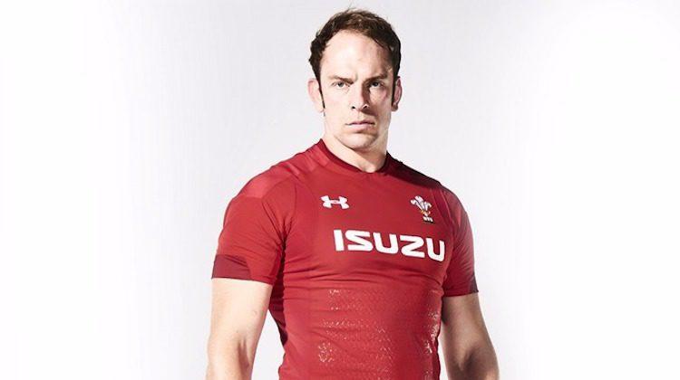 Colline e montagne sulla nuova maglia del Galles di rugby