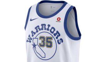 Classic edition, la nuova maglia dei Warrios torna agli '80
