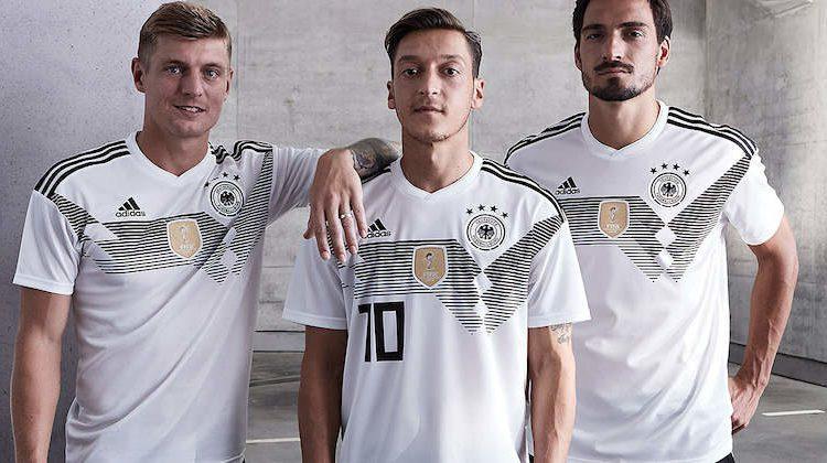 Le maglie delle nazionali per i Mondiali di calcio 2018