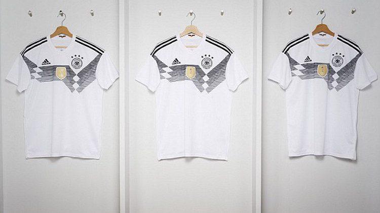 Germania maglia bianca 2018