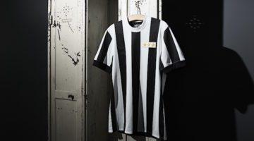 La nuova maglia storica della Juventus per i 120 anni