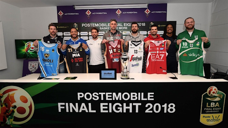 squadre e maglie basket final eight 2018