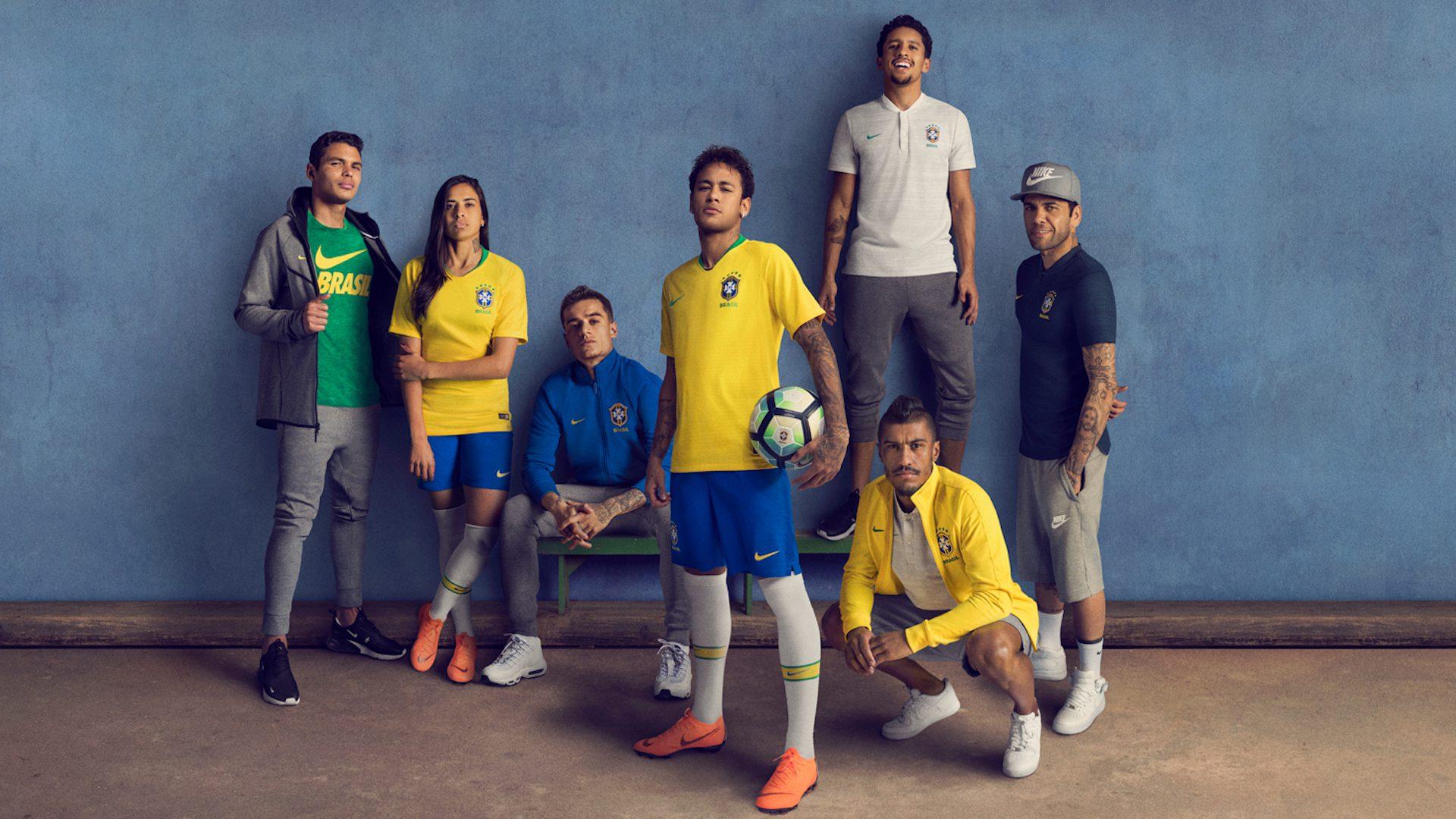 brasile maglie mondiali calcio 2018 di nike