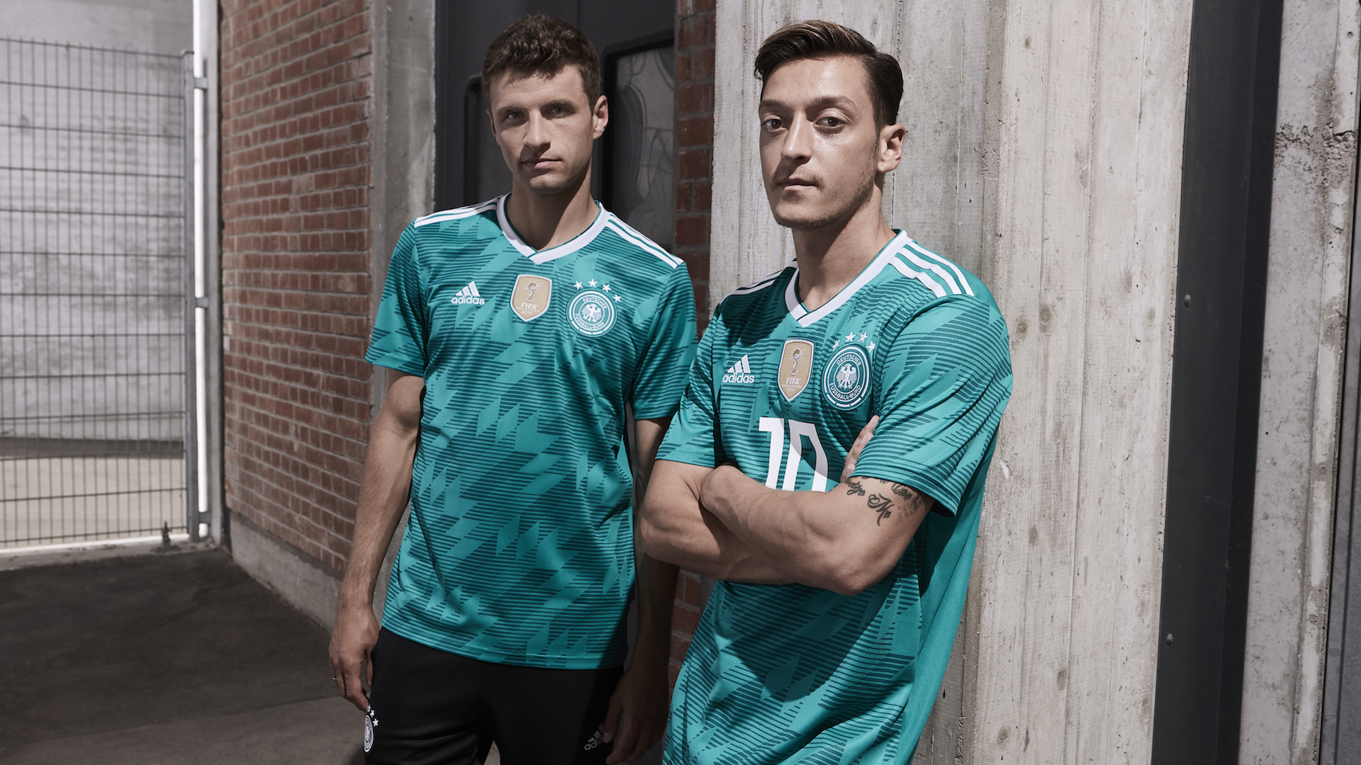 kit away verde Germania 2018 adidas