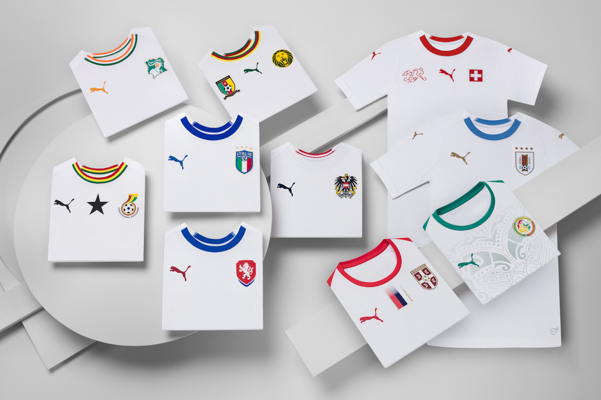 Kit Puma nazionali 2018