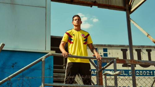 maglia nazionale colombiana mondiali calcio 2018