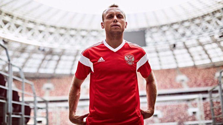 maglia nazionale di calcio russia 2018