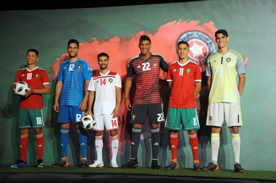 Marocco home away kit 2018